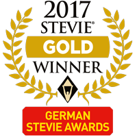 stevie gold winner award